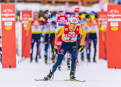 02.02.2020, Seefeld, AUT, FIS Weltcup Nordische Kombination, Langlauf, Gundersen 15 Km, im Bild Vinzenz Geiger (GER) // Vinzenz Geiger of Germany during the Gundersen 15 Km Cross Country Competition of FIS Nordic Combined World Cup at the Seefeld, Austria on 2020/02/02. EXPA Pictures © 2020, PhotoCredit: EXPA/ Stefan Adelsberger