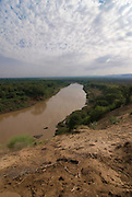 The Omo river, Omovalley, Ethiopia,Africa