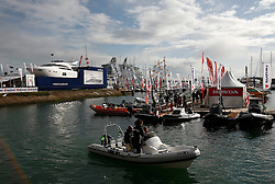 UK ENGLAND SOUTHAMPTON 17SEP11 - General view at the Southampton Boatshow...The Southampton Boat Show is the biggest water based boat show in Europe. It has been held every September since 1969 in Mayflower Park, Southampton, England.....jre/Photo by Jiri Rezac....© Jiri Rezac 2011