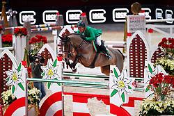 Puck Gerfried, (AUT), Bionda 3<br /> MEVISTO Amadeus Horse Indoor Salzburg<br /> © Hippo Foto - Stefan Lafrentz<br /> 11-12-2016