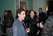 Andrea Levy; Frances Coady, Andrea Levy book launch for her new novel, The Long Song, Fitzroy Sq. London. 3 February 2010