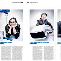 Tekst en beeld zijn auteursrechtelijk beschermd en het is dan ook verboden zonder toestemming van auteur, fotograaf en/of uitgever iets hiervan te publiceren <br /> <br /> Trouw 15 oktober 2014: innovatie in de chemische industrie
