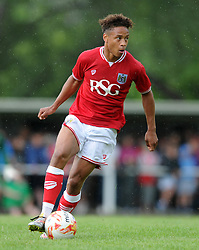 Bobby Reid of Bristol City - Photo mandatory by-line: Dougie Allward/JMP - Mobile: 07966 386802 - 05/07/2015 - SPORT - Football - Bristol - Brislington Stadium - Pre-Season Friendly