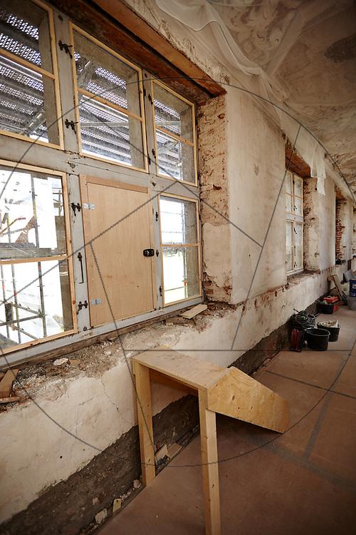 restaurering af audiensgang på Frederiksborg Slot Slots- og Kulturejendom, loft og tag over audiensgangen
