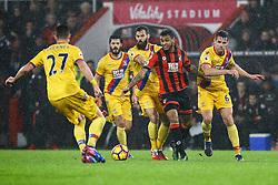 Joshua King of Bournemouth breaks through Crystal Palace defence - Mandatory by-line: Jason Brown/JMP - 31/01/2017 - FOOTBALL - Vitality Stadium - Bournemouth, England - Bournemouth v Crystal Palace - Premier League