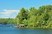 Boathouse , Muskoka COuntry, Ontario, Canada
