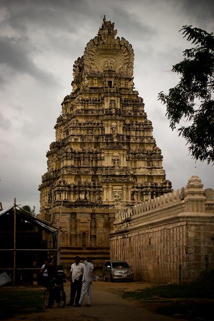 Tipu's Fort at Seringapatam in India