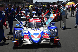 June 17, 2017 - Le Mans, France - 13 VAILLANTE REBELLION (CHE) ORECA 07 GIBSON LMP2 MATHIAS BECHE (CHE) DAVID HEINEMEIER HANSSON (DNK) NELSON PIQUET JR  (Credit Image: © Panoramic via ZUMA Press)