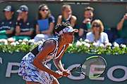 Venus Williams (USA) during the womens singles second rounds of the Roland Garros Tennis Open 2017 at Roland Garros Stadium, Paris, France on 2 June 2017. Photo by Jon Bromley.