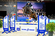 Alex David Gill - Grand Glam VDL<br /> Jumping Zwolle 2018<br /> © DigiShots