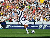 Photo: Tony Oudot/Richard Lane Photography. West Bromwich Albion v Plymouth Argyle. Coca Cola Championship. 12/09/2009. <br /> GOAL! Marek Cech puts WBA 2-1 up