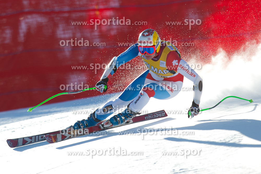 15.01.2012, Pista Olympia delle Tofane, Cortina, ITA, FIS Weltcup Ski Alpin, Damen, Super G, im Bild Nadja Kamer (SUI) // Nadja Kamer of Switzerland during superG race of FIS Ski Alpine World Cup at 'Pista Olympia delle Tofane' course in Cortina, Italy on 2012/01/15. EXPA Pictures © 2012, PhotoCredit: EXPA/ Johann Groder