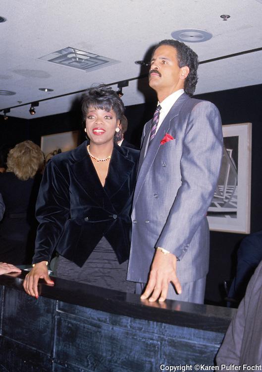 Oprah Winfrey and her long time boyfriend Stedman Graham, Jr. in Chicago, Illionois.