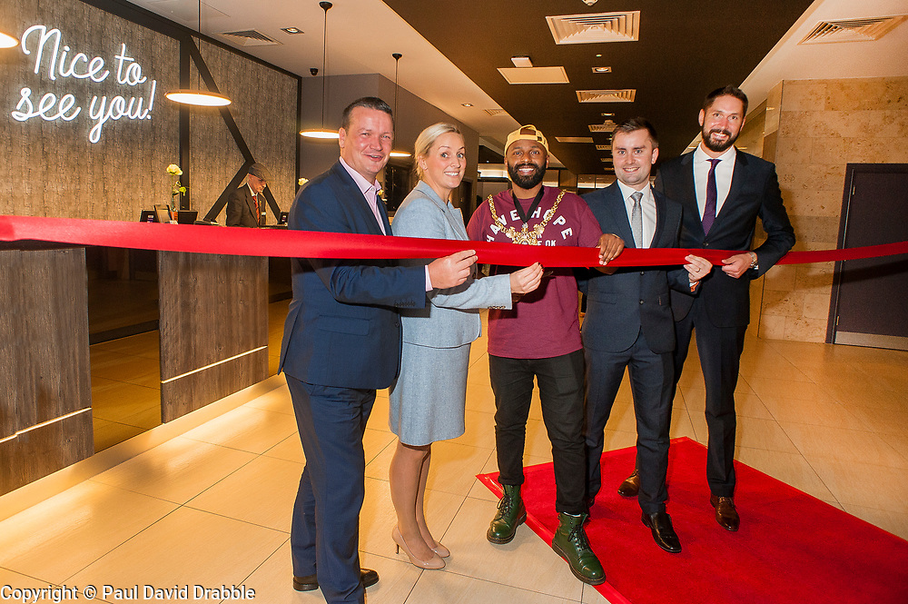 Jurys Inn refurbishment Re-launch and grand opening Sheffield<br /> <br />   13  September 2018<br />  Copyright Paul David Drabble<br />  www.pauldaviddrabble.co.uk