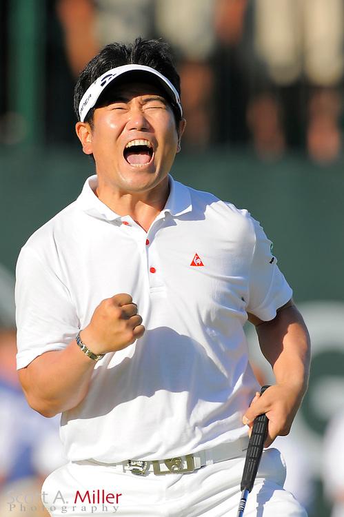 YE Yang wins PGA Championship