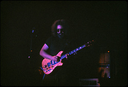 Jerry Garcia Band at the Capitol Theater, Passaic  NJ 11-26-77. From an original Kodak Ektachrome Professional Tungsten Film Slide, EPT160.