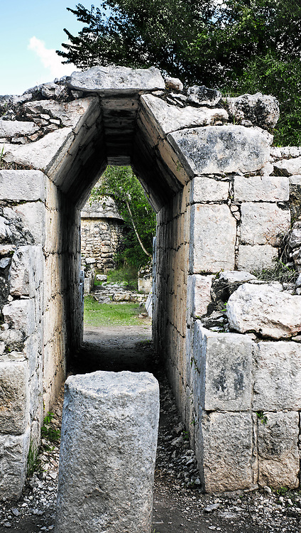 Chichen Itza in the yucatan was a Maya city and one of the greatest religious center and remains today one of the most visited archaeological sites