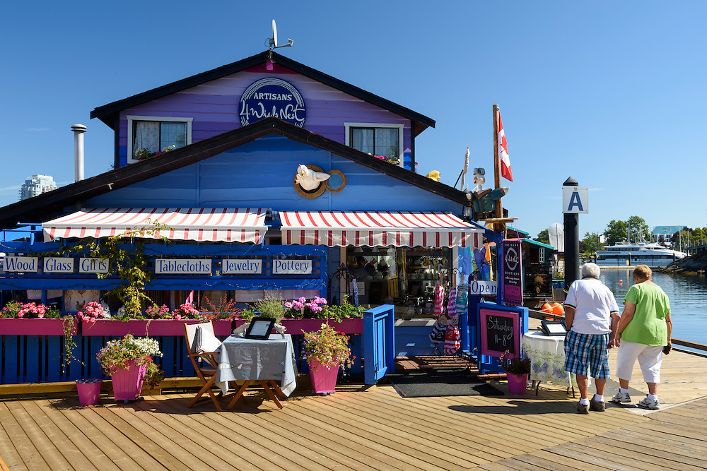Canada, British Columbia, Vancouver Island, Victoria, Fishermens Wharf