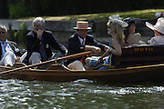 2006 Henley Royal Regatta. Henley-on-Thames, ENGLAND,  2, 02/07/2006.  George LAWSON and guests enjoy the racing from the MOTH,. Photo  Peter Spurrier/Intersport Images, email images Henley Royal Regatta, Rowing Courses, Henley Reach, Henley, ENGLAND [Mandatory credit; Peter Spurrier/Intersport Images] 2006 . HRR.