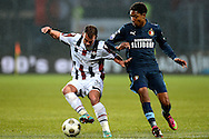 Onderwerp/Subject: Willem II - Feyenoord - Eredivisie<br /> Reklame:  <br /> Club/Team/Country: <br /> Seizoen/Season: 2012/2013<br /> FOTO/PHOTO: Nicky HOFS ( Nick HOFS ) (L) of Willem II in duel with Jean Paul BOETIUS (R) of Feyenoord. (Photo by PICS UNITED)<br /> <br /> Trefwoorden/Keywords: <br /> #04 $94 &plusmn;1354627667242<br /> Photo- &amp; Copyrights &copy; PICS UNITED <br /> P.O. Box 7164 - 5605 BE  EINDHOVEN (THE NETHERLANDS) <br /> Phone +31 (0)40 296 28 00 <br /> Fax +31 (0) 40 248 47 43 <br /> http://www.pics-united.com <br /> e-mail : sales@pics-united.com (If you would like to raise any issues regarding any aspects of products / service of PICS UNITED) or <br /> e-mail : sales@pics-united.com   <br /> <br /> ATTENTIE: <br /> Publicatie ook bij aanbieding door derden is slechts toegestaan na verkregen toestemming van Pics United. <br /> VOLLEDIGE NAAMSVERMELDING IS VERPLICHT! (&copy; PICS UNITED/Naam Fotograaf, zie veld 4 van de bestandsinfo 'credits') <br /> ATTENTION:  <br /> &copy; Pics United. Reproduction/publication of this photo by any parties is only permitted after authorisation is sought and obtained from  PICS UNITED- THE NETHERLANDS