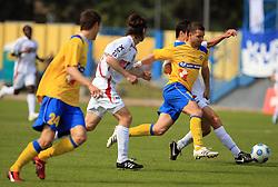Patrik Ipavec at 33rd Round of PrvaLiga Telekom Slovenije 2008/2009 league match between NK Luka Koper and NK Labod Drava Ptuj, on May 9, 2009, in SRC Bonifika, Koper, Slovenia. Drava won 2:1. (Photo by Vid Ponikvar / Sportida)