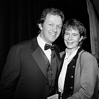Kevin Wheatley, Celia Imrie. At Anthony Minghella's, Premier of The Talented Mr Ripley, Medina Theatre, Newport, isle of Wight, England, UK,