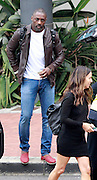 EXCLUSIVE <br /> English actor, Idris Elba flew in to Cape Town to continue filming on his latest movie, Stephen King's, Dark Tower. Elba  was seen at the Met Gala in London on Sunday evening with rumoured ex girlfriend Naiyana Garth who had not accompanied the star to South Africa.<br /> ©Starpics/Exclusivepix Media