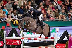 ALVARES AZNAR Eduardo (ESP), Uqualin du Saulcy<br /> Leipzig - Partner Pferd 2019<br /> IDEE Kaffe Preis<br /> CSI5*<br /> 18. Januar 2019<br /> © www.sportfotos-lafrentz.de/Stefan Lafrentz