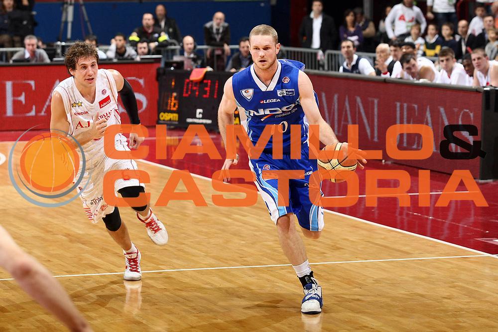 DESCRIZIONE : Milano Lega A 2009-10 Armani Jeans Milano NGC Cantu<br /> GIOCATORE : Maarten Leunen<br /> SQUADRA : NGC Cantu<br /> EVENTO : Campionato Lega A 2009-2010<br /> GARA : Armani Jeans Milano NGC Cantu<br /> DATA : 15/11/2009<br /> CATEGORIA : Palleggio<br /> SPORT : Pallacanestro<br /> AUTORE : Agenzia Ciamillo-Castoria/G.Cottini<br /> Galleria : Lega Basket A 2009-2010<br /> Fotonotizia : Milano Campionato Italiano Lega A 2009-2010 Armani Jeans Milano NGC Cantu<br /> Predefinita :