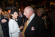 JUNG CHANG; PRINCE RUPERT LOEWENSTEIN, Book launch for ' Daughter of Empire - Life as a Mountbatten' by Lady Pamela Hicks. Ralph Lauren, 1 New Bond St. London. 12 November 2012.