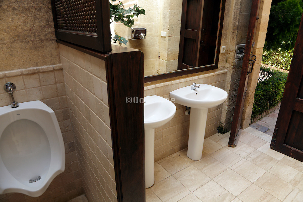 public toilet room
