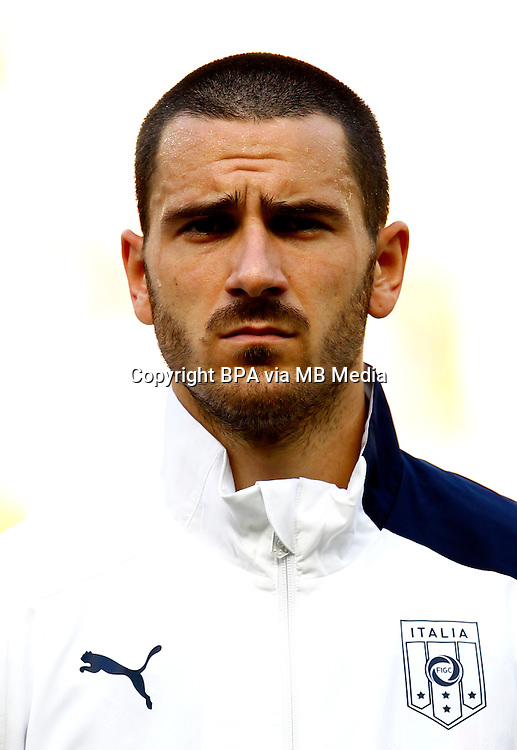 Football Fifa Brazil 2014 World Cup / <br /> Italy National Team - <br /> Leonardo Bonucci of Italy