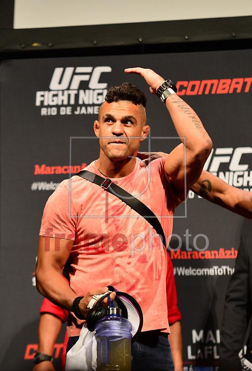 Rio de Janeiro (RJ), 20/03/2015 - Pesagem Oficial do UFC Fight Night . Durinho vs Oliveira. Maracanãzinho, Rio de Janeiro. Foto: Fernando Monteiro/Frame