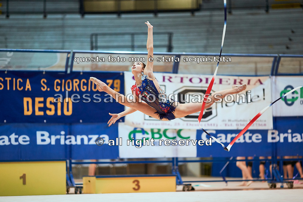 Rebecca Riccò of Team Italia during a training session in Desio, 08 February 2020.