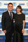 Jono Hickey and partner during the Auckland Rugby awards night held at Eden Park on the 25th of October 2017. <br /> Credit; Peter Meecham/ www.photosport.nz