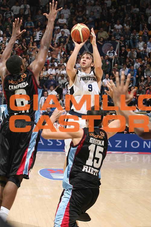 DESCRIZIONE : Bologna Lega A1 2008-09 Fortitudo Bologna Solsonica Rieti<br /> GIOCATORE : Davide Lamma <br /> SQUADRA : Fortitudo Bologna<br /> EVENTO : Campionato Lega A1 2008-2009 <br /> GARA : Fortitudo Bologna Solsonica Rieti<br /> DATA : 01/11/2008 <br /> CATEGORIA : tiro<br /> SPORT : Pallacanestro <br /> AUTORE : Agenzia Ciamillo-Castoria/M.Marchi<br /> Galleria : Lega Basket A1 2008-2009 <br /> Fotonotizia : Bologna Campionato Italiano Lega A1 2008-2009 Fortitudo Bologna Solsonica Rieti<br /> Predefinita :