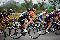 Hannah Barnes (GBR) at GREE Tour of Guangxi Women's WorldTour 2019 a 145.8 km road race in Guilin, China on October 22, 2019. Photo by Sean Robinson/velofocus.com
