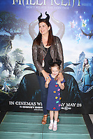 Amanda Lamb, Celebrity Screening of Maleficent, Odeon Leicester Square, London UK, 25 May 2014, Photo by Brett D. Cove
