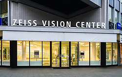 Zeiss Vision Center store on famous Kurfurstendamm shopping street in Berlin, Germany.