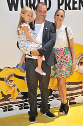 """(L-R) Betty Boogie Parker, Trey Parker and Boogie Tillmon arrives at the """"Despicable Me 3"""" Los Angeles Premiere held at the Shrine Auditorium in Los Angeles, CA on Saturday, June 24, 2017.  (Photo By Sthanlee B. Mirador) *** Please Use Credit from Credit Field ***"""