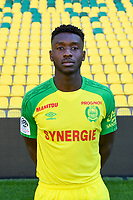 Enock Kwateng during photoshooting of Fc Nantes for new season 2017/2018 on September 18, 2017 in Nantes, France. (Photo by Philippe Le Brech/Icon Sport)