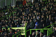 The East Stand at The New Lawn, home of Forest Green Rovers during the EFL Sky Bet League 2 match between Forest Green Rovers and Grimsby Town FC at the New Lawn, Forest Green, United Kingdom on 22 January 2019.
