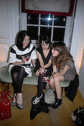 Amy Molyneaux, Amee Patel and Alexa Chung, Garrard Colour And Cocktail Party, Garrard, 24 Albemarle Street, London. 10 May 2007. -DO NOT ARCHIVE-© Copyright Photograph by Dafydd Jones. 248 Clapham Rd. London SW9 0PZ. Tel 0207 820 0771. www.dafjones.com.