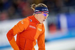 11-12-2016 NED: ISU World Cup Speed Skating, Heerenveen<br /> Ireen Wust op de 1000 meter