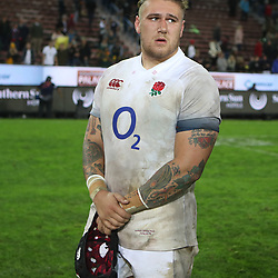 Harry Williams of England during the 2018 Castle Lager Incoming Series 3rd Test match between South Africa and England at Newlands Rugby Stadium,Cape Town,South Africa. 23,06,2018 Photo by (Steve Haag JMP)