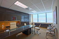 Interior Building photography of P4 Healthcare OncoSource in Columbia, Maryland by Architectural Photographer Jeffrey Sauers