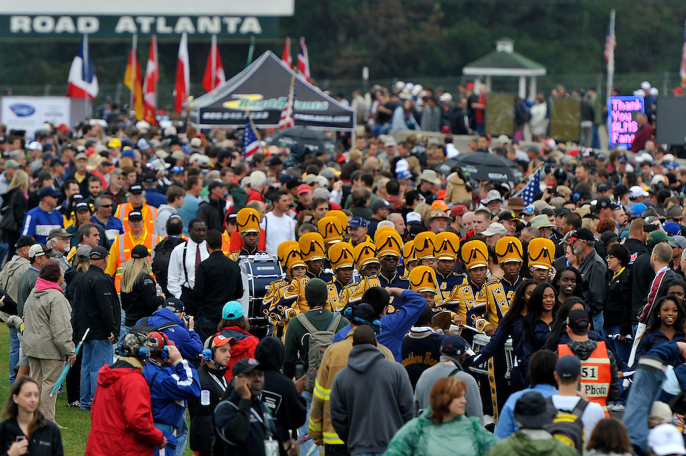 16-19 October, 2013, Braselton, Georgia USA<br /> Crowd of fans on pre race grid<br /> &copy;2013 Scott R LePage <br /> LAT Photo USA