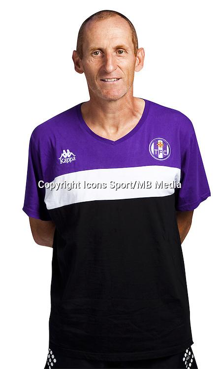 Thierry Uvenard - 03.10.2014 - Portrait Officiel - Toulouse - Ligue 1<br /> Photo : Saada / Icon Sport