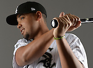 GLENDALE, ARIZONA - FEBRUARY 23:  Tim Anderson #7 of the Chicago White Sox poses for a portrait during Photo Day on February 23, 2017 at Camelback Ranch in Glendale Arizona.  (Photo by Ron Vesely).  Object:  Tim Anderson
