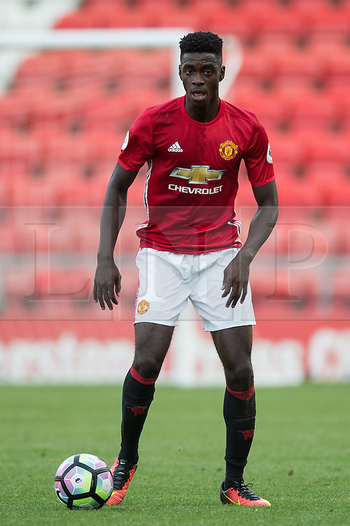 © Licensed to London News Pictures . 15/08/2016 . Leigh , UK . Manchester United vs Leicester City reserves at Leigh Sports Village Stadium . Photo credit : Joel Goodman/LNP